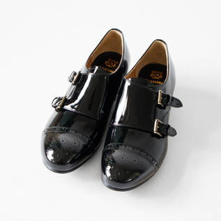 chausser  Double monk strap shoes BLG