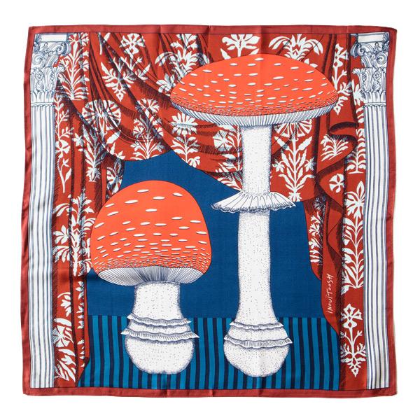 シルクスカーフ MADAME BON(RED)