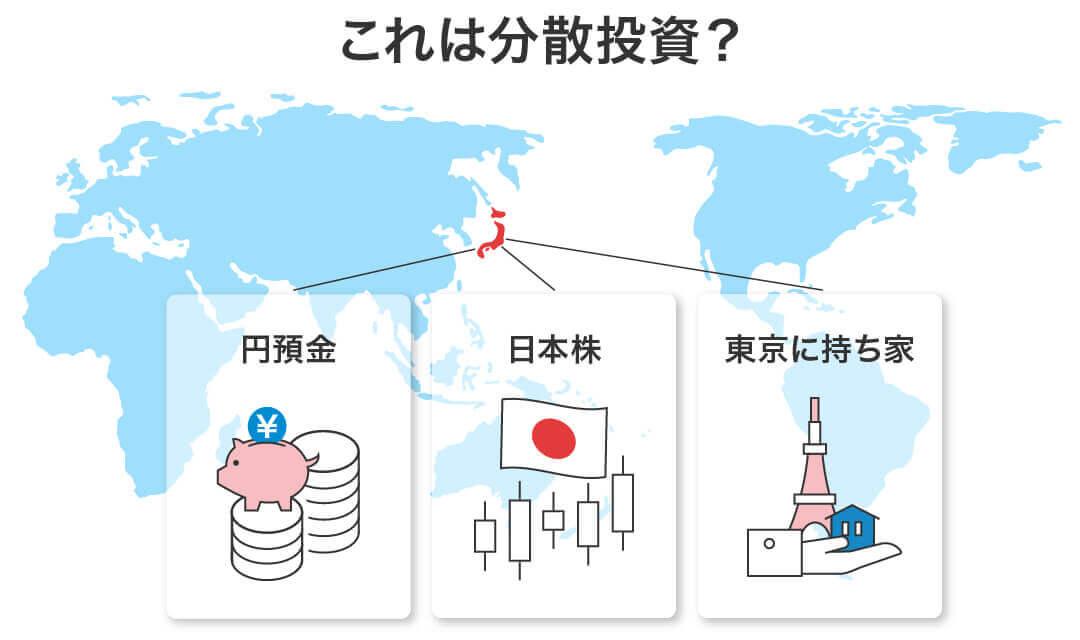 「円預金、日本株、東京に持ち家」